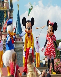 Sömestre Paris Disneyland Turu 29 Ocak & 05 Şubat Hareket 4 Gece